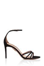 Aquazzura | Черные босоножки Very Purist Sandal 85 | Clouty
