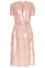 Alexander Terekhov   Розовое платье из блестящего шелка   Clouty