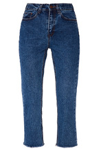 D.O.T.127 | Синие джинсы с «вареным» эффектом | Clouty