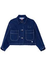 MIU MIU | Синий джинсовый жакет | Clouty
