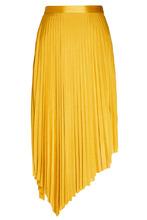 MO&CO   Желтая плиссированная юбка   Clouty