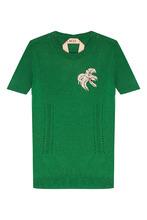 No. 21 | Зеленый кашемировый джемпер | Clouty
