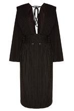Ruban | Серое платье из полушерсти | Clouty