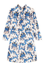 Sandro | Короткое шелковое платье | Clouty