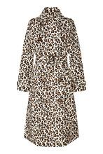 Essentiel Antwerp | Плащ с леопардовым принтом Ranger | Clouty