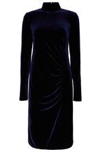 ЛИ-ЛУ | Синее платье-миди | Clouty