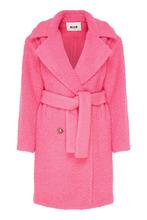 MSGM | Розовое двубортное пальто | Clouty