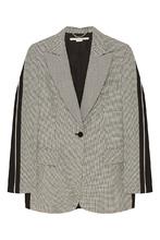 Stella McCartney | Серый жакет с комбинированным дизайном | Clouty