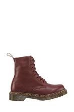 Dr. Martens | Высокие бордовые ботинки | Clouty