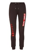 Zoe Karssen | Черные брюки с контрастной отделкой | Clouty
