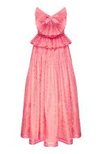 GUCCI | Розовое платье с декоративной отделкой | Clouty