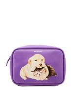 Balenciaga | Фиолетовая сумка с принтом Everyday XS AJ | Clouty