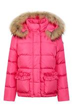 Il Gufo | Розовый пуховик с карманами | Clouty