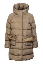 Il Gufo | Зимнее пальто с меховой отделкой | Clouty