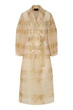 SIMONE ROCHA   Кружевное пальто с отделкой   Clouty