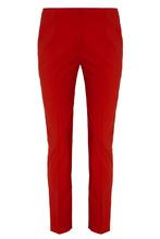 VALENTINO | Красные шерстяные брюки | Clouty