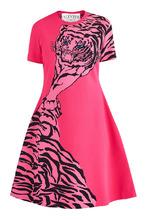 VALENTINO | Розовое платье с коротким рукавом | Clouty