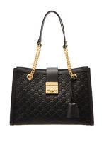 GUCCI | Черная сумка Padlock | Clouty