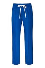 MIU MIU | Синие брюки с лампасами | Clouty