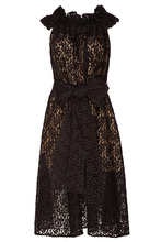 Stella McCartney   Черное кружевное платье   Clouty