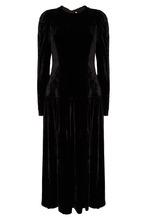 Stella McCartney   Черное платье с открытой спиной   Clouty