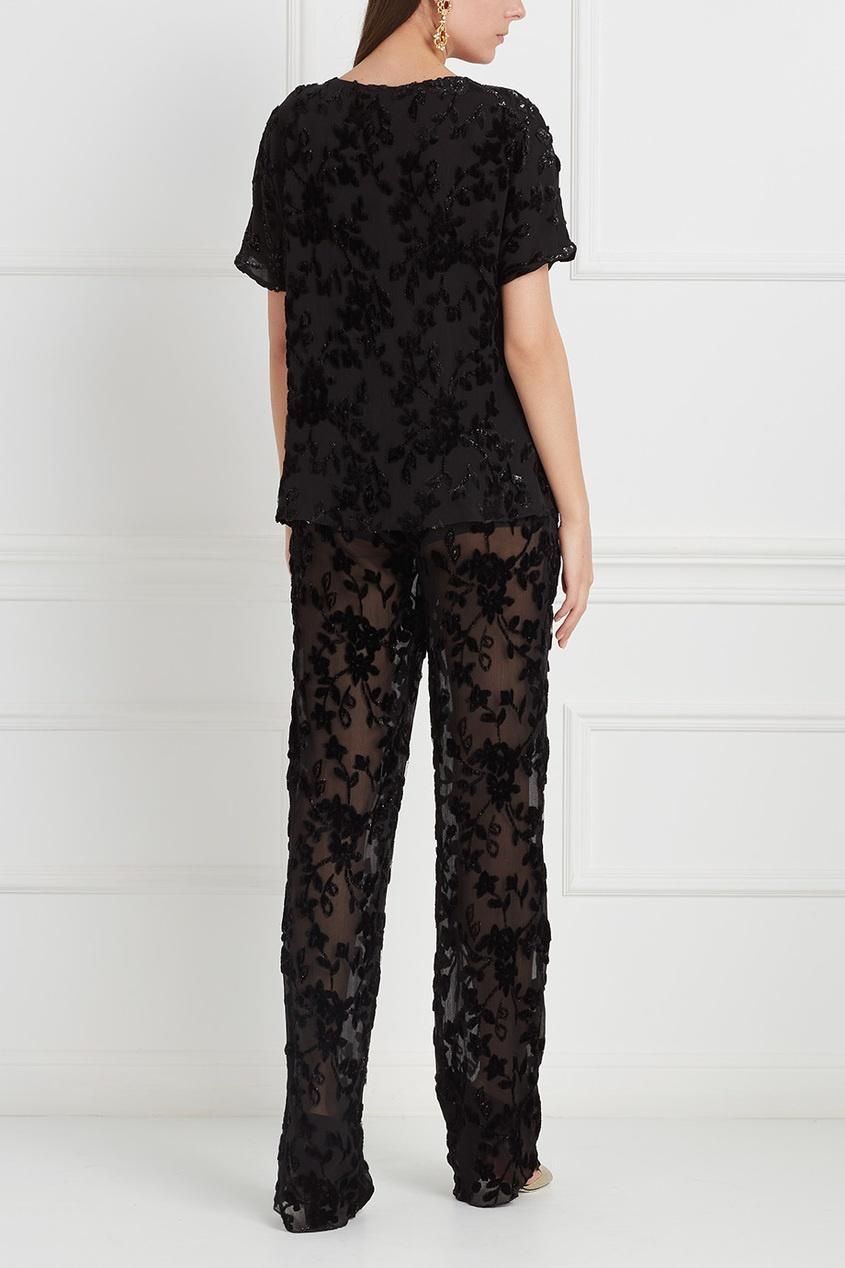 Etro | черный Широкие брюки | Clouty