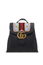 GUCCI | Кожаный рюкзак GG Marmont | Clouty