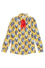 GUCCI   Шелковая блузка   Clouty