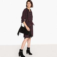 La Redoute Collections | Платье-рубашка с леопардовым принтом | Clouty