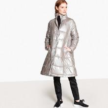 La Redoute Collections | Куртка стеганая длинная на молнии, зимняя модель | Clouty