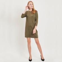 Vila | Платье-рубашка с длинными рукавами | Clouty