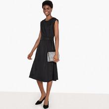 La Redoute Collections | Платье из двух материалов без рукавов | Clouty