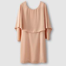 Vila | Платье прямого покроя, вырез сзади, наложенные друг на друга детали вверху VERO MODA VIFICA DRESS | Clouty
