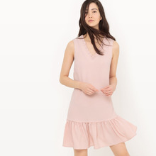 La Redoute Collections | Платье с баской без рукавов | Clouty