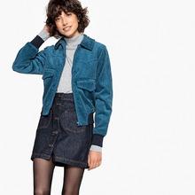 La Redoute Collections | Куртка двухцветная из велюра | Clouty