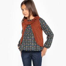 La Redoute Collections   Комплект из блузки и кардигана без рукавов 3-12 лет   Clouty