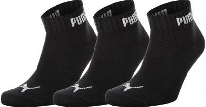 Puma | Носки Puma Quarter-V, 3 пары, размер 35-38 | Clouty