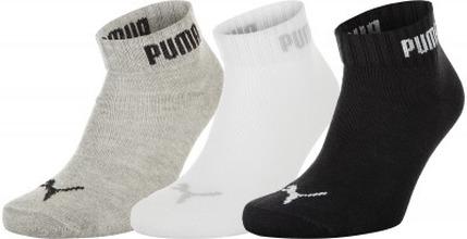Puma | Носки Puma Quarter-V, 3 пары, размер 39-42 | Clouty