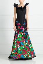 Oscar De La Renta | Шелковое платье | Clouty
