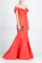 Zac Posen   Шелковое платье   Clouty