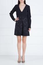 Stella McCartney | Платье из шерсти и вискозы с длинным рукавом | Clouty