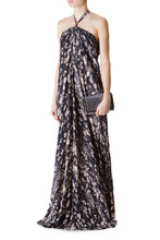 L'Agence | Легкое платье в пол без лямок | Clouty