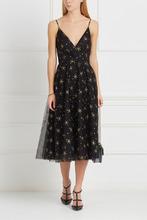 VALENTINO | Платье с глиттерным принтом | Clouty