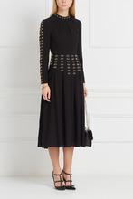 VALENTINO | Платье из шелка с отделкой | Clouty