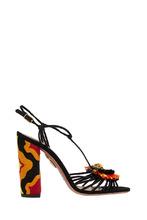 Aquazzura | Замшевые босоножки Samba Sandal 105 | Clouty