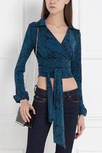 Diane Von Furstenberg | Хлопковая блузка | Clouty