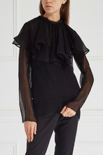 NINA RICCI | Однотонная блузка | Clouty
