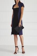 Amen | Платье с контрастной вставкой | Clouty