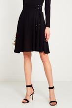 Elisabetta Franchi | Черная юбка со шнуровкой | Clouty