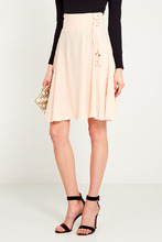 Elisabetta Franchi | Пудровая юбка со шнуровкой | Clouty